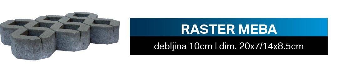 RASTER-MEBA